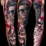 Фото Современные тату 23.08.2018 №019 - Modern Tattoos - tatufoto.com