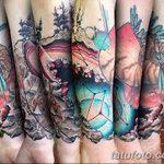 Фото Современные тату 23.08.2018 №030 - Modern Tattoos - tatufoto.com
