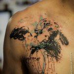 Фото Современные тату 23.08.2018 №044 - Modern Tattoos - tatufoto.com