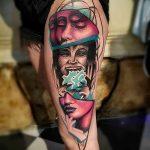 Фото Современные тату 23.08.2018 №049 - Modern Tattoos - tatufoto.com