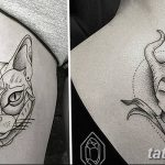 Фото Современные тату 23.08.2018 №071 - Modern Tattoos - tatufoto.com