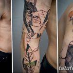 Фото Современные тату 23.08.2018 №089 - Modern Tattoos - tatufoto.com