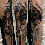 Фото Современные тату 23.08.2018 №189 - Modern Tattoos - tatufoto.com