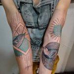 Фото Современные тату 23.08.2018 №199 - Modern Tattoos - tatufoto.com