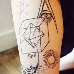 Фото Современные тату 23.08.2018 №205 - Modern Tattoos - tatufoto.com