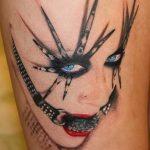 Фото Тату Кристины Агилеры от 02.08.2018 №024 - Tattoo of Christina Aguiler - tatufoto.com