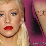 Фото Тату Кристины Агилеры от 02.08.2018 №025 - Tattoo of Christina Aguiler - tatufoto.com