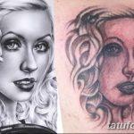 Фото Тату Кристины Агилеры от 02.08.2018 №027 - Tattoo of Christina Aguiler - tatufoto.com