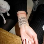 Фото Тату Леры Кудрявцевой 25.08.2018 №003 - Tattoo of Lera Kudryavtseva - tatufoto.com