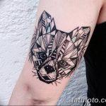 Фото Тату лайнворк от 17.08.2018 №003 - tattoo laynvork - tatufoto.com