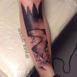 Фото Тату лайнворк от 17.08.2018 №005 - tattoo laynvork - tatufoto.com