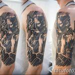 Фото Тату лайнворк от 17.08.2018 №030 - tattoo laynvork - tatufoto.com