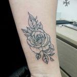 Фото Тату лайнворк от 17.08.2018 №043 - tattoo laynvork - tatufoto.com