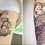 Фото Тату лайнворк от 17.08.2018 №052 - tattoo laynvork - tatufoto.com