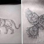 Фото Тату лайнворк от 17.08.2018 №056 - tattoo laynvork - tatufoto.com