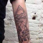 Фото Тату лайнворк от 17.08.2018 №057 - tattoo laynvork - tatufoto.com