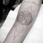 Фото Тату лайнворк от 17.08.2018 №065 - tattoo laynvork - tatufoto.com