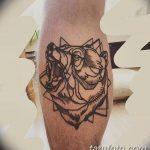 Фото Тату лайнворк от 17.08.2018 №074 - tattoo laynvork - tatufoto.com