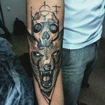 Фото Тату лайнворк от 17.08.2018 №077 - tattoo laynvork - tatufoto.com