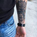 Фото Тату лайнворк от 17.08.2018 №080 - tattoo laynvork - tatufoto.com