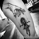 Фото Тату лайнворк от 17.08.2018 №081 - tattoo laynvork - tatufoto.com