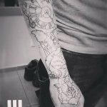 Фото Тату лайнворк от 17.08.2018 №104 - tattoo laynvork - tatufoto.com