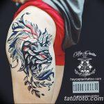 Фото Тату лайнворк от 17.08.2018 №105 - tattoo laynvork - tatufoto.com