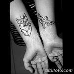 Фото Тату лайнворк от 17.08.2018 №120 - tattoo laynvork - tatufoto.com