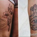 Фото Тату лайнворк от 17.08.2018 №132 - tattoo laynvork - tatufoto.com