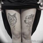 Фото Тату лайнворк от 17.08.2018 №146 - tattoo laynvork - tatufoto.com