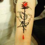Фото Тату лайнворк от 17.08.2018 №149 - tattoo laynvork - tatufoto.com