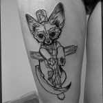 Фото Тату лайнворк от 17.08.2018 №160 - tattoo laynvork - tatufoto.com