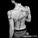 Фото Тату лайнворк от 17.08.2018 №171 - tattoo laynvork - tatufoto.com