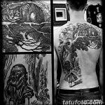 Фото Тату лайнворк от 17.08.2018 №172 - tattoo laynvork - tatufoto.com