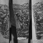 Фото Тату лайнворк от 17.08.2018 №198 - tattoo laynvork - tatufoto.com