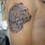Фото Тату лайнворк от 17.08.2018 №206 - tattoo laynvork - tatufoto.com