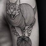 Фото Тату лайнворк от 17.08.2018 №218 - tattoo laynvork - tatufoto.com