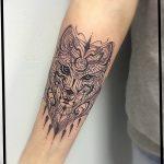 Фото Тату лайнворк от 17.08.2018 №229 - tattoo laynvork - tatufoto.com