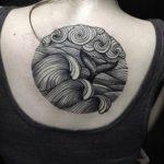 Фото Тату лайнворк от 17.08.2018 №231 - tattoo laynvork - tatufoto.com