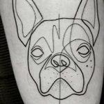 Фото Тату лайнворк от 17.08.2018 №263 - tattoo laynvork - tatufoto.com