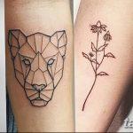 Фото Тату лайнворк от 17.08.2018 №270 - tattoo laynvork - tatufoto.com