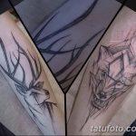 Фото Тату лайнворк от 17.08.2018 №272 - tattoo laynvork - tatufoto.com