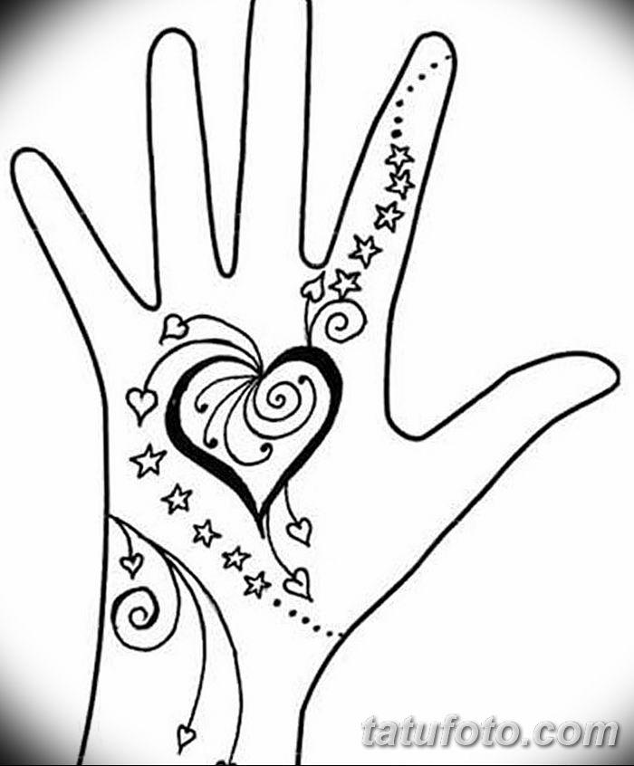 Фото простые рисунки мехенди от 03.08.2018 №004 - simple mehendi drawing - tatufoto.com