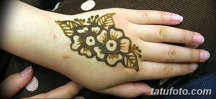 Фото простые рисунки мехенди от 03.08.2018 №030 - simple mehendi drawing - tatufoto.com