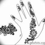 Фото простые рисунки мехенди от 03.08.2018 №031 - simple mehendi drawing - tatufoto.com