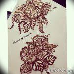 Фото простые рисунки мехенди от 03.08.2018 №041 - simple mehendi drawing - tatufoto.com