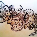 Фото простые рисунки мехенди от 03.08.2018 №048 - simple mehendi drawing - tatufoto.com