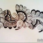 Фото простые рисунки мехенди от 03.08.2018 №049 - simple mehendi drawing - tatufoto.com