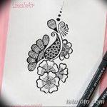 Фото простые рисунки мехенди от 03.08.2018 №136 - simple mehendi drawing - tatufoto.com