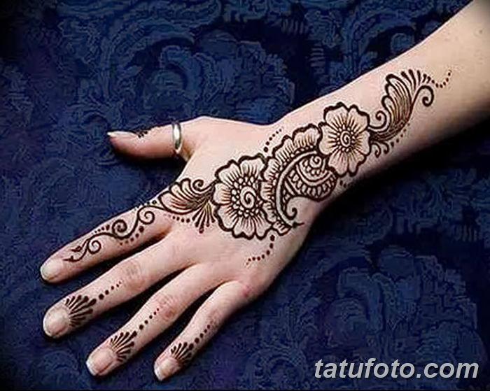 Фото простые рисунки мехенди от 03.08.2018 №191 - simple mehendi drawing - tatufoto.com
